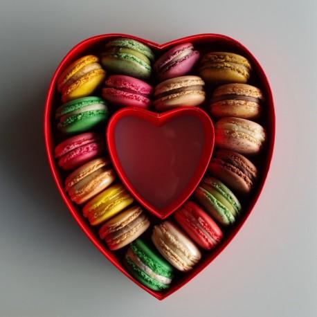 Coeur 18 Macarons